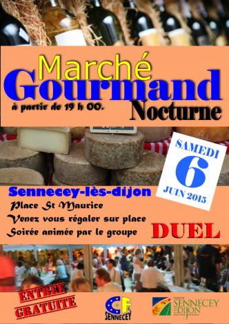 Marche nocturne sennecey 06 06 15